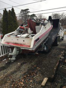Mantoloking NJ, Junk Boat Removal